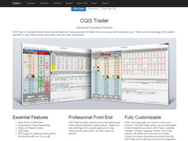 CQG Trader
