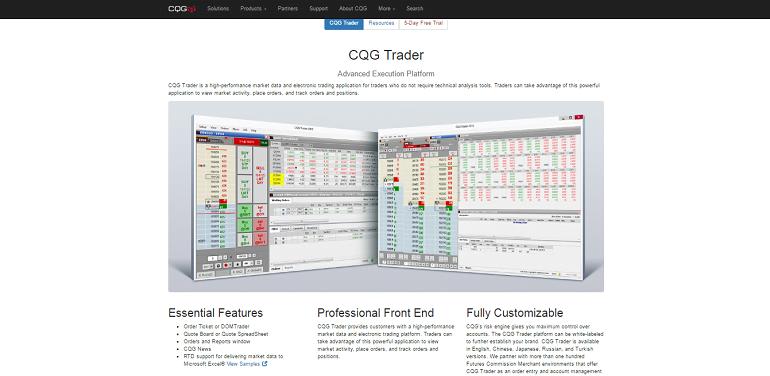 Cqg forex brokers