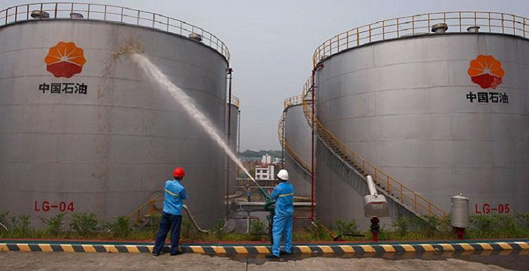 Китай наращивает импорт нефти