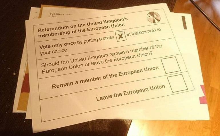 Выход Англии из ЕС