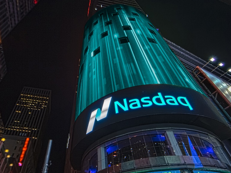 американская технологическая биржа Насдак