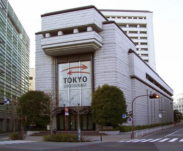 Asian stock exchange - Japan