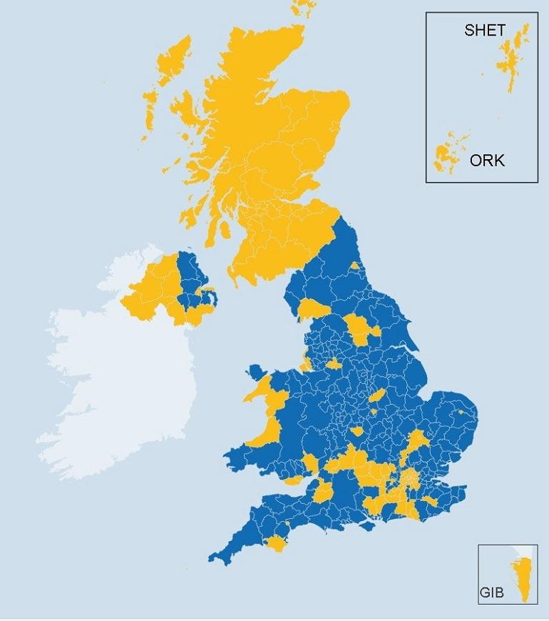 итоги референдума в Великобритании