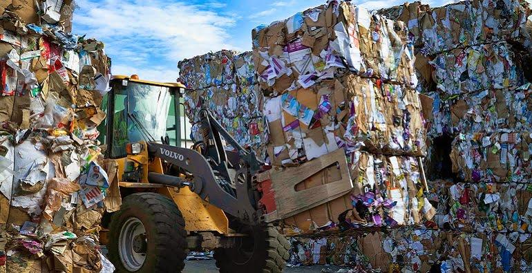 переработка мусора в мире