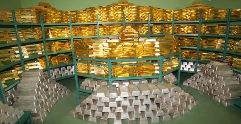 золотые запасы страны
