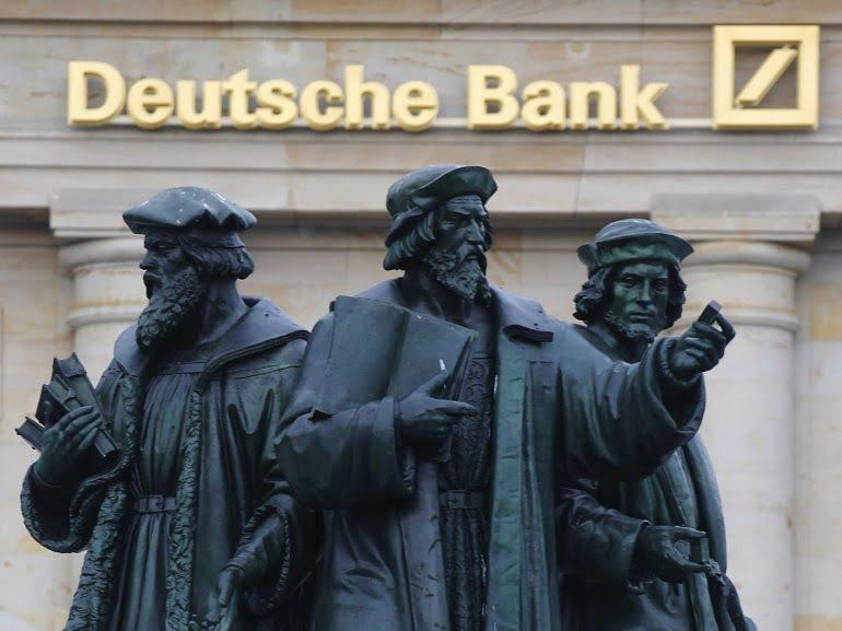 Deutsche Bank оштрафован