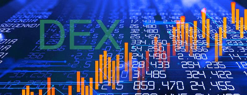 Децентрализованные биржи демонстрируют рост объема продаж за неделю на 117%