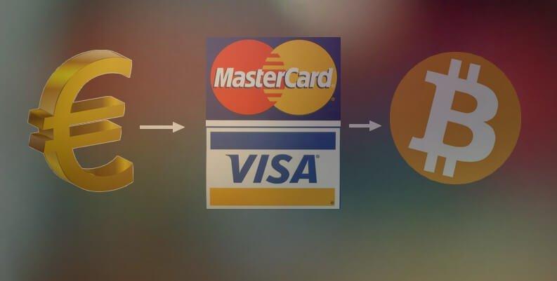 Как купить биткойны за евро через карты Visa / Mastercard