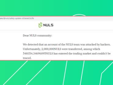 Хакеры взломали блокчейн платформу Nuls и похитили 480 тысяч долларов