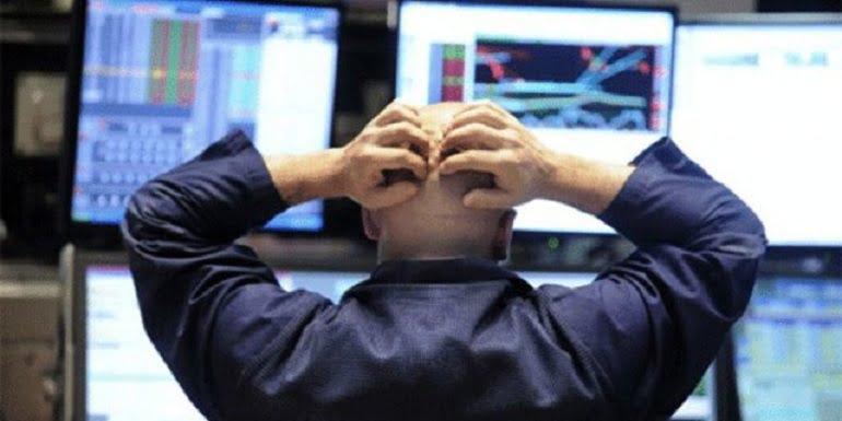 рынки США падают