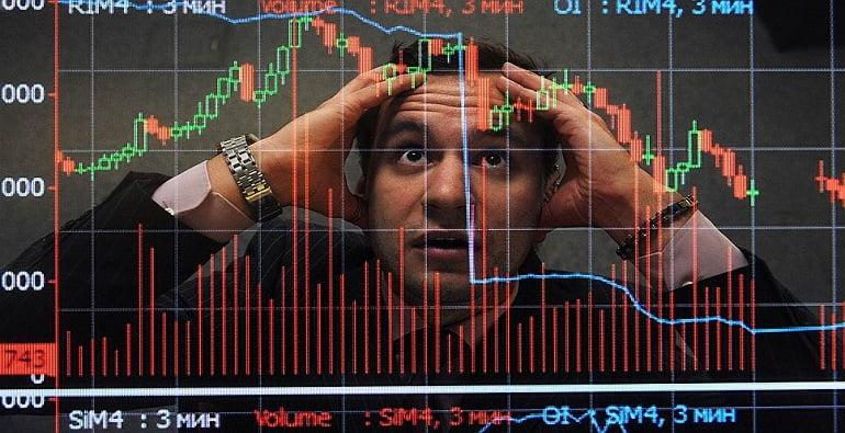 сбои на бирже