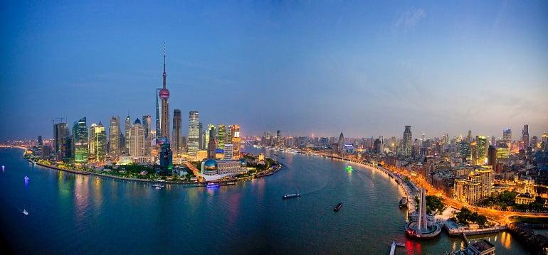 Шанхай город инвестиций