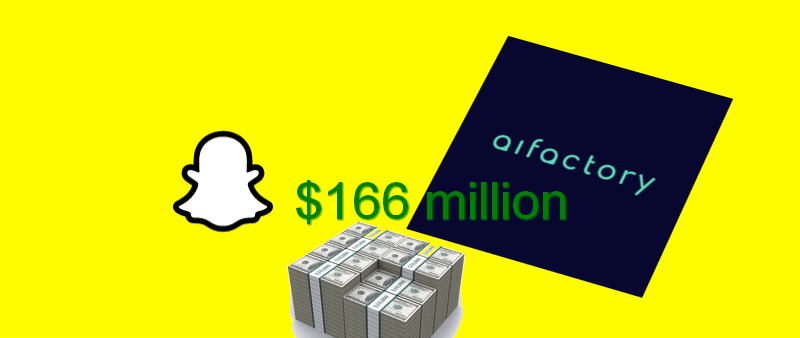 Snapchat приобрела Startup AI Factory за 166 миллионов долларов