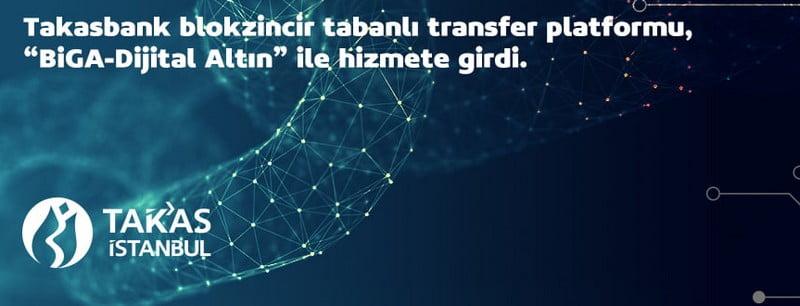 Турецкий банк Takasbank запускает систему физических переводов на базе блокчейна