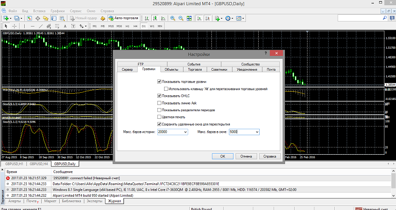 questions with metatrader