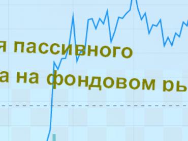 Стратегия пассивного инвестора на фондовом рынке