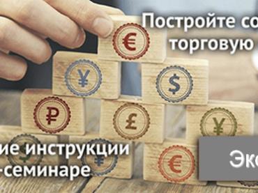 Как правильно построить собственную торговую систему? Не пропустите обучающий вебинар от NPBFX, 19 ноября в 20:00 по МСК