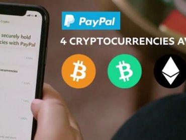 Теперь через PayPal жители Великобритании могут покупать и продавать криптовалюты
